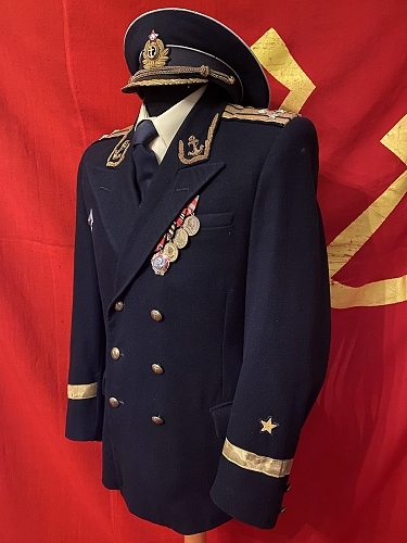 Soviet navy captain I rank parade dress uniform M1952